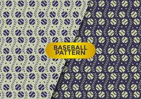 Baseball Pattern Vector