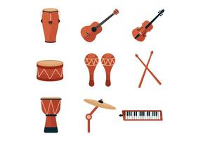 Free Music Instrument and Percussion Icons