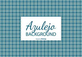 Square Azulejo Tile Background vector