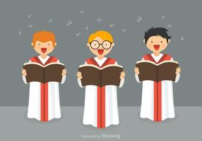 Vecteur chœur de garçons gratuit