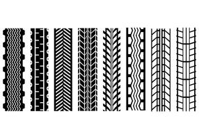 Free Tire Marks Vector