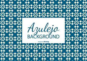 Diamond Azulejo Tile Background vector