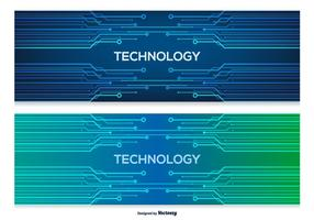 Technologie Abstracte Banners