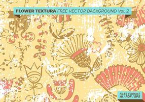 Texture de la fleur vecteur libre vol. 2