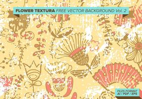 Flower Textura Gratis Vector Achtergrond Vol. 2