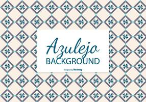 Creamy Azulejo Tile Background vector