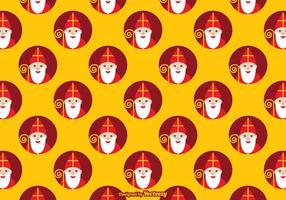 Libre Sinterklaas Vector Patrón