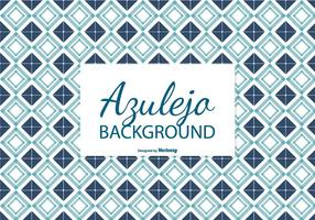 Navy Blue Azulejo Tile Background vector