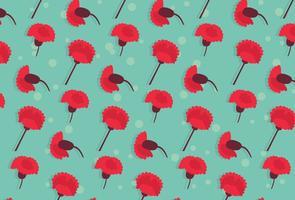 Carnation Flowers Pattern
