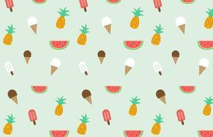 Summer Pattern Vector