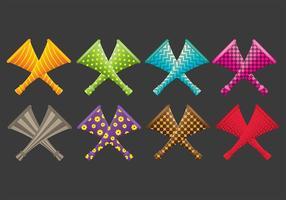 Vuvuzela icons