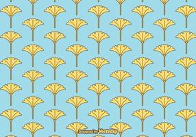 Free Vector Ginko Pattern