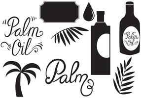 Free Palm Oil Vectors