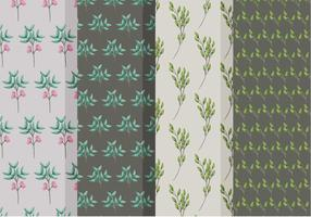 Vackra gren vektor mönster