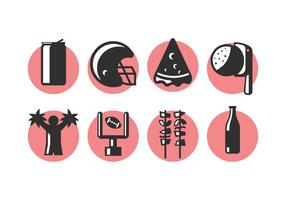 Heckklappen-Party-Icons 2