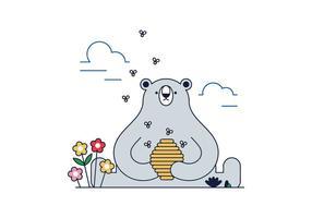 Gratis björnvektor