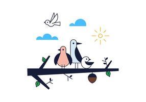 Vector de aves grátis