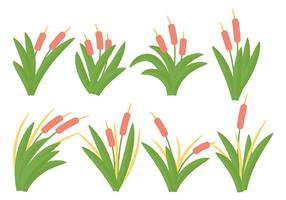 Gratis Cattails Ikon Vector