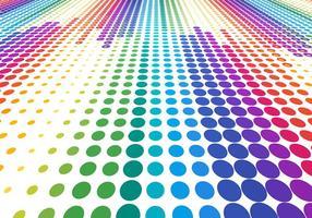 Gratis Vector Kleurrijke Halftone Achtergrond