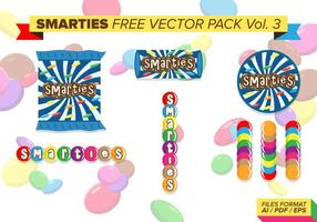 Smarties pack vecteur gratuit vol. 3