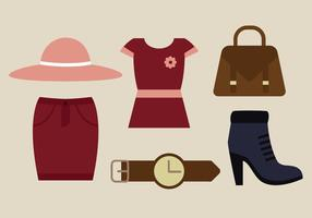Vecteur de vêtements automne gratuit