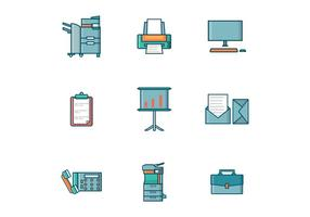 Kostenlose Office Tools Vector