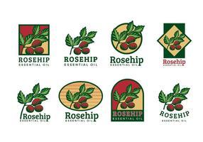 Vector Logotipo Rosa Mosqueta