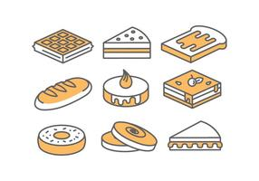Bakery / Cake Icons vector