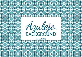 Circular Azulejo Tile Background