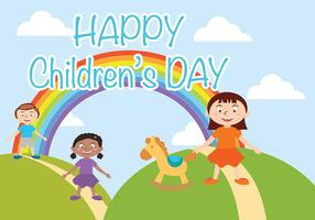 Vecteur Happy Children Day