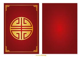Chinesische Red Packet Illustration