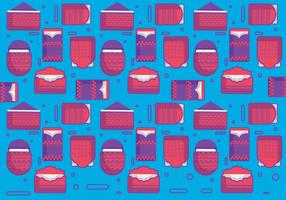Red Packet Pattern Vector