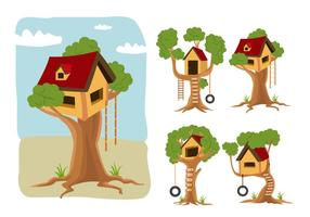 Caricature vectorielle Treehouse