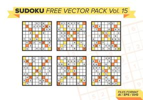 Sudoku Free Vector Pack Vol. 15