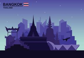 Free Bangkok Illustation vector