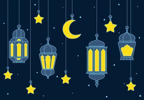 Arabian Lantern Background