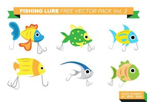 Fishing Lure Gratis Vector Pack Vol. 2