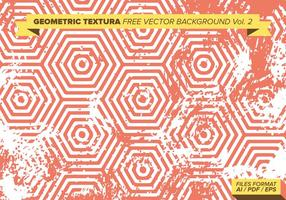 Textile géométrique fond de vecteur gratuit Vol. 2