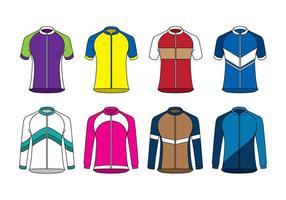 Raglan deporte jersey vector
