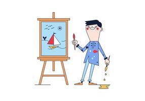 Vector artista libre