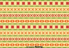 Ethnic Songket Pattern Vector