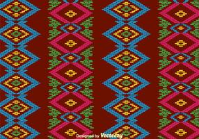 Traditional Songket Background