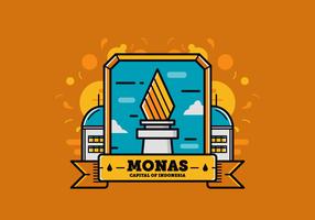 Monas Vector Gratis