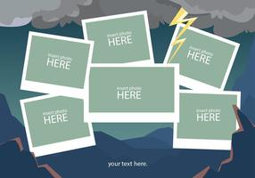 Storm Photo Collage Template