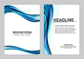 Free Vector Brochure Background