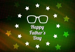 Free-vector-modern-father-s-day-background