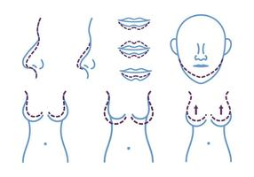 Plastic Chirurgie Pictogram
