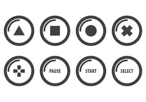 Gratis Arcade Button Vectoren