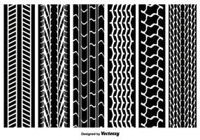 Seamless Tire Marcas Vector Pack