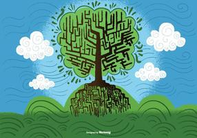 Tree of Wisdom Vector